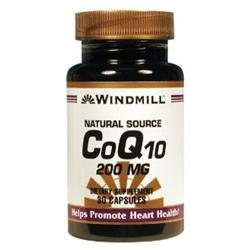 Co Q Enzyme Q-10 200 mg, 30 Capsules, Windmill Health Products
