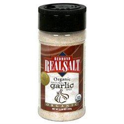 Redmond RealSalt Organic Natural Garlic Salt - 8.25 oz