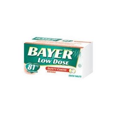 Bayer Regimen Tablets, Adult Low Strength Aspirin Pain Reliever, 81