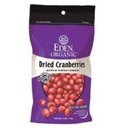 Eden Foods - Organic Dried Cranberries Apple Sweetened - 4 oz.