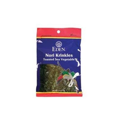 Eden Foods - Nori Krinkles Toasted Sea Vegetable - 0.53 oz.