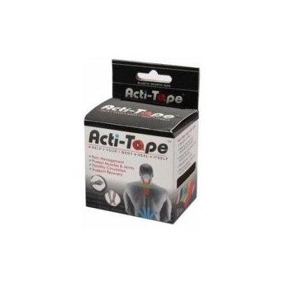 NutriWorks - Kinesiology Acti-Tape Black - 1 Rolls
