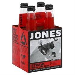 Jones, Soda Strwbry Lime 4Pk, 48 FO (Pack of 6)