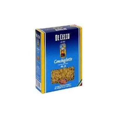 De Cecco Conchigliette, 16 oz Boxes, 5 pk