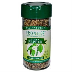 Frontier Natural - Pepper - Ground, Coarse, 1.68 oz