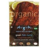 Arora Creations Organic Goan Shrimp Curry 0.9-Ounce -Pack of 12