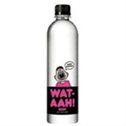 Wat-Aah Body Pure Spring Water 16.9 Ounce Pack of 12