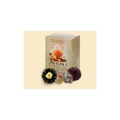 Numi Teas Petite Bouquet Assorted Flower Tea Sampler 4 Bags