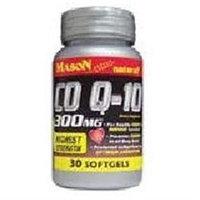 Co Q-10 300 mg, 30 Softgels, Mason Natural