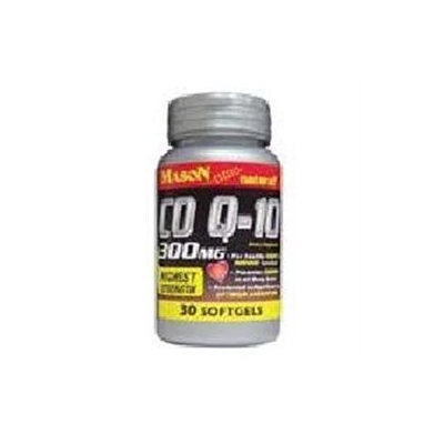 Co Q-10 300 mg, 30 Softgels, Mason Natural