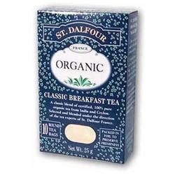St. Dalfour Organic Tea Classic Breakfast - 25 Tea Bags
