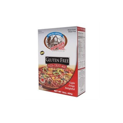Hodgson Mill Gluten Free Pizza Crust Mix, 16-Ounce (Pack of 6)