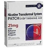 Nicotine Patch NICOTINE TRANS PATCH STP1 21MG Size: 7