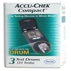Accu-check Accu-Chek Compact Test Strips, 51 Tests