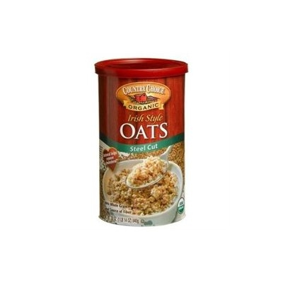 Country Choice Organic Oven Toasted Oats Steel Cut - 30 oz