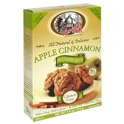 Hodgson Mill Apple Cinnamon Muffin Mix, 7.6 oz, - Pack of 6