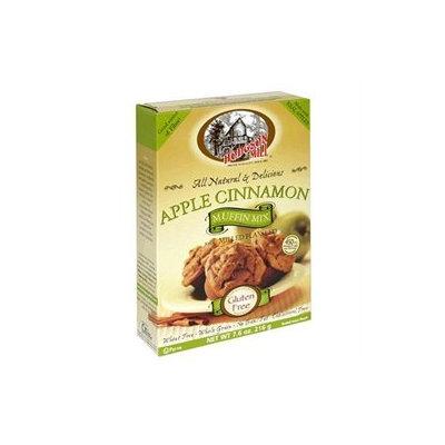 Hodgson Mill Apple Cinnamon Muffin Mix, 7.6 oz, - Pack of 6