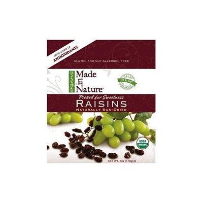 Made In Nature, Organic Raisins, 6 Oz (170 G)