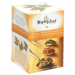 Mighty Leaf Tea Company Mighty Leaf - Herbal Infusion Variety - 15 Tea Bags