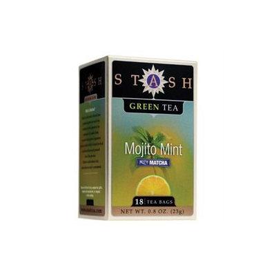 Stash Tea - Premium Mojito Mint Green Tea with Matcha - 18 Tea Bags