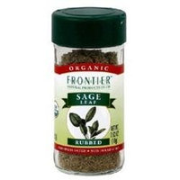 Frontier Natural Products Sage Leaf, Og, Rubbed, 0.40-Ounce