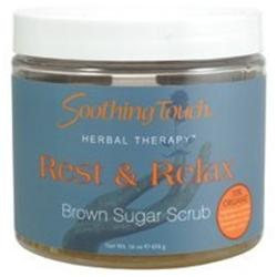 Soothing Touch - Brown Sugar Scrub Rest & Relax - 16 oz.