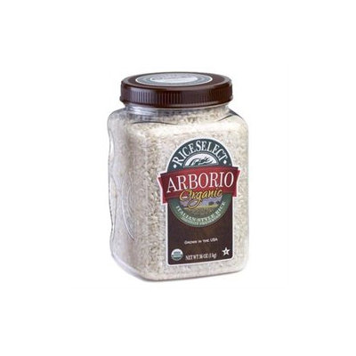 Riceselect Organic Arborio Rice, 36-Ounce Jars (Pack of 4)