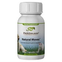 Native Remedies PNAT001 PetAlive Natural Moves for Pet Constipation 60 VegeCaps
