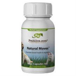 Native Remedies PNAT001 PetAlive Natural Moves for Pet Constipation 60 VegeCaps