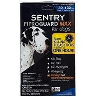 St Jon Laboratories St Jon LabSergeant Pet 529056 Sentry Fiproguard Max For Dogs 6 Month 89132 Pounds