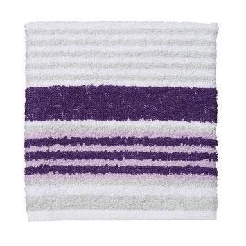 The Big One® Stripe Washcloth, Purple