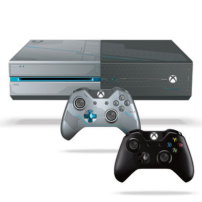 Xbox One 1TB Limited Edition Halo 5: Guardians Bundle, Earth/Black