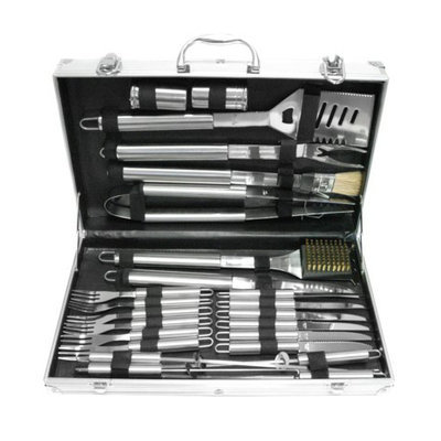 KNS International BT Outdoor Stainless Steel Barbeque set - 24 PC