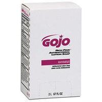GOJO RICH PINK Antibacterial Lotion Soap Refill, 2000 mL, Pink, 4/Carton
