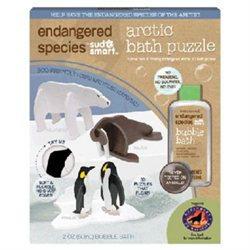 Health Science Labs ES1882C Endangered Species Small Puzzle Bath Set Arctic
