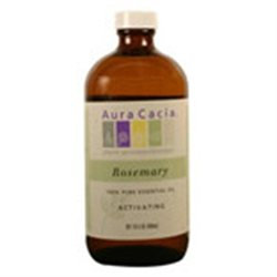 Frontier Natural Products Co-op 188942 Aura Cacia Rosemary, Essential Oil, 16 oz. bottle