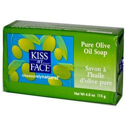 Kiss My Face 54936 Pure Olive Oil Bar Soap