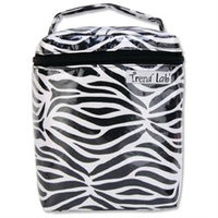 Trend Lab Black & White Zebra Bottle Bag