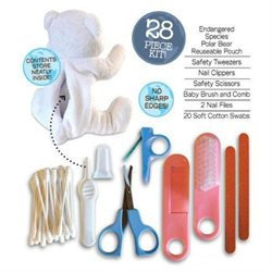 Health Science Labs Groom Me Baby Essentials Kit Polar Bear - 1 Kit