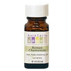 Frontier Natural Products Co-op 191203 Aura Cacia Chamomile Roman, Essential Oil, .13 oz. bottle