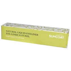 Frontier Natural Products Co-op 220755 Suncoat Natural Sugar-Based Eyeliner Chic Black 0.23 fl. oz.