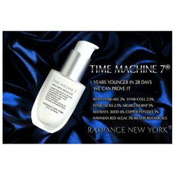 Radiance New York TML27 Time Machine 7 Snake Venom Anti-Age Cream Face Neck Decollete 3.5oz