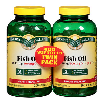 Spring Valley Fish Oil 1000 mg Omega-3