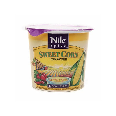 Nile Spice Sweet Corn Chowder Soup Cup