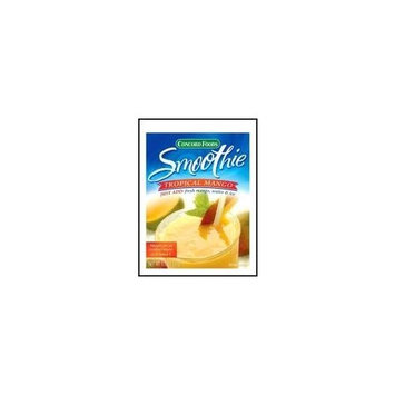 Concord foods Tropical Mango Smoothie Mix, 1.8 OZ Packages