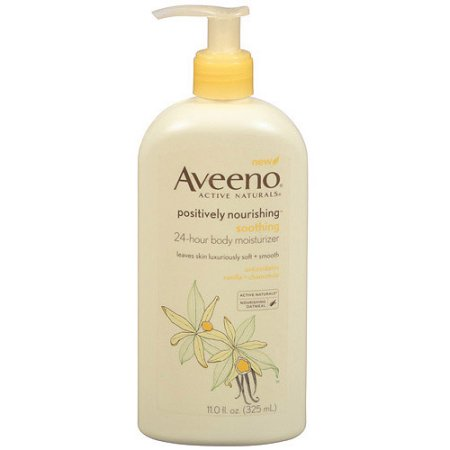 Aveeno® Positively Nourishing Soothing 24-Hour Body Moisturizer