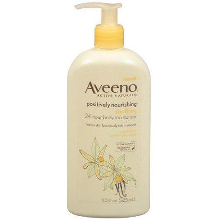 Aveeno® Positively Nourishing Soothing 24-Hour Body Moisturizer