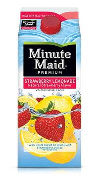 Minute Maid® Premium Strawberry Lemonade Natural Strawberry Flavor