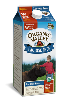 Organic Valley® Lactose-Free Whole Milk, Ultra Pasteurized