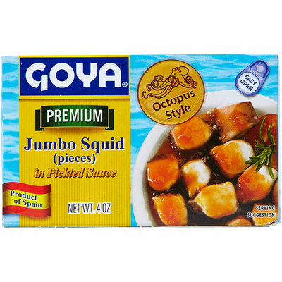 Goya Jumbo Squid in Pickled Sauce